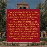 應對ICE新規 南加多校謀對策