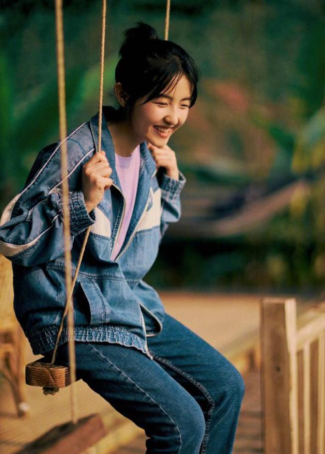 張子楓曾在電視劇「小別離」,中飾演黃磊女兒。(翻攝自小別離劇照)