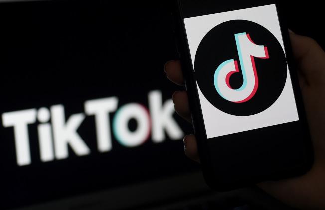美國總統川普表示,他正考慮禁止廣受歡迎的影音分享軟體TikTok。Getty Images