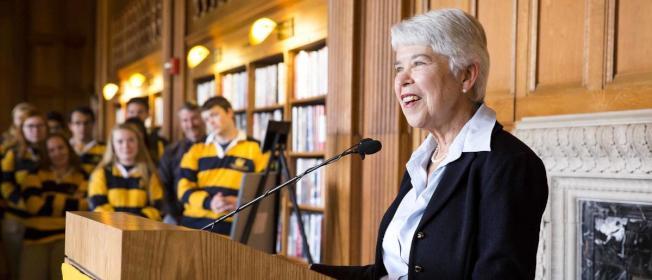 柏克萊加大校長克里斯公開聲明說,ICE新規和學校價值觀背道而馳,將探索包括法律在內的一切選項,應對政策有害傷害。(取自柏加大官網)