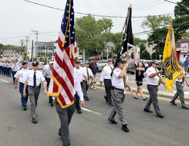 紐約市將不允許10月前舉行大型活動;圖為往年舉辦的國殤日大遊行。(本報檔案照)