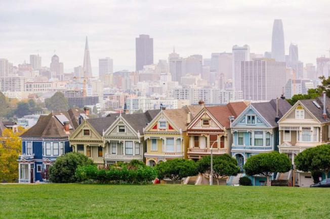 新冠疫情讓舊金山租金反轉下降。(Getty Images)