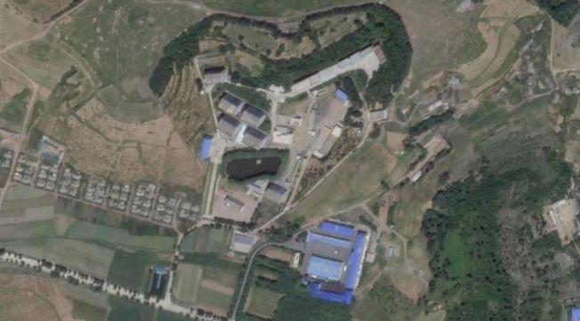 美國有線電視新聞網取得新的衛星影像,顯示先前未公開的一處北韓設施近期有動靜。圖為2019年7月9日拍攝的衛星影像。(截圖自CNN網頁)