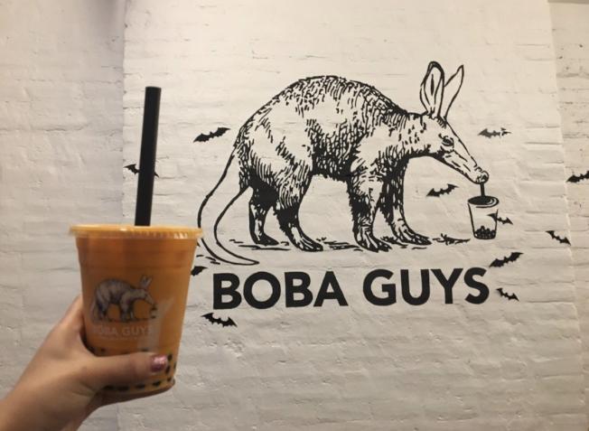 華裔創史奶茶店Boba Guys涉性騷擾及種族歧視言論。(記者張晨/攝影)