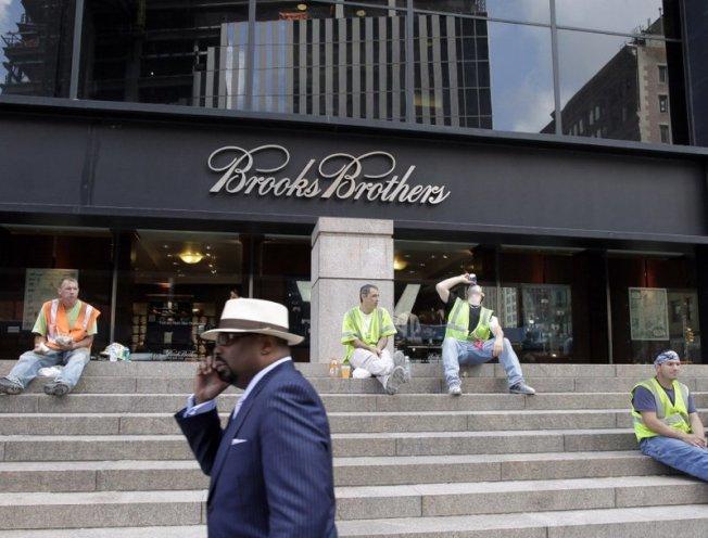 布克兄弟日前聲請破產,據傳至少有兩家服飾公司願意出資維持這家老店繼續營運。(美聯社)