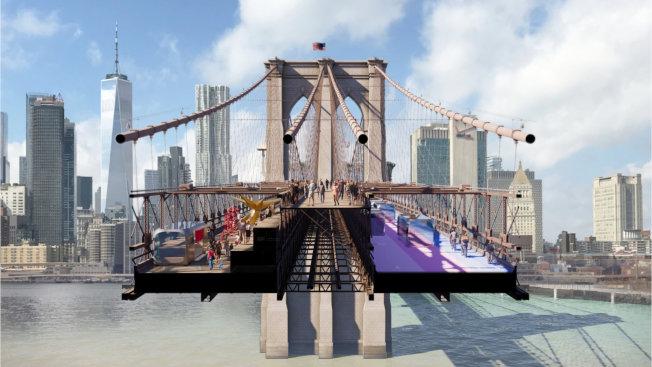 紐約當地著名建築公司Bjarke Ingels Group與設計公司Arup共同提出「回到未來」(Back to the Future)計畫,提倡回歸到無車道時代。(主辦方提供)