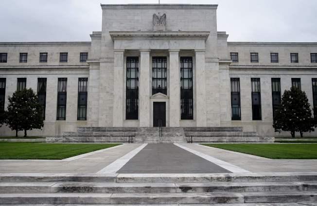 圖為聯邦準備銀行。(美聯社)