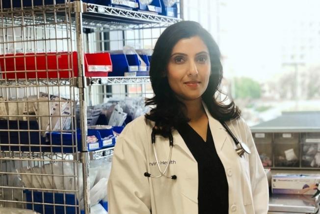 加大爾灣醫學中心麻醉護理師帕特爾(Nilu Patel)。(Nilu Patel提供)