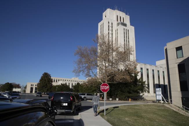 川普自稱在「華特里德醫學中心」(圖) 接受「認知測驗」得了滿分,讓醫師們很驚訝。(美聯社)