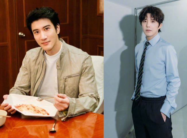 王力宏(左圖)與李雲迪(右圖)過去因交情甚密,被傳男男戀。(取材自微博)