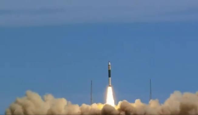 快舟11運載火箭10日中午12時17分發射失利。(視頻截圖)