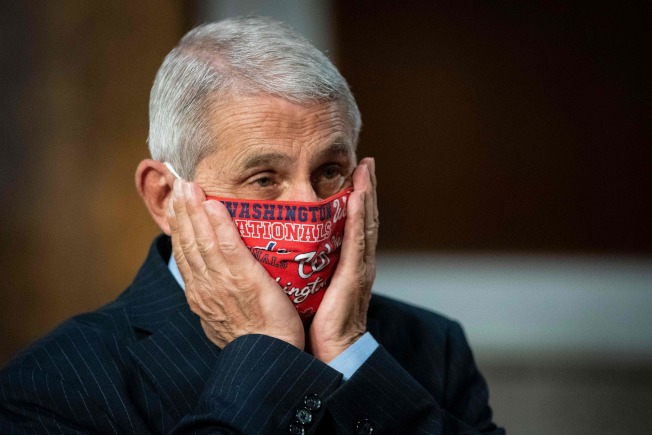 美國國家過敏和傳染病研究院院長佛奇坦承,他已兩個月未向川普簡報疫情。(Getty Images)