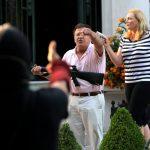 舉槍對準示威者  聖路易白人夫婦  房被搜查槍遭沒收