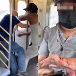 地鐵7號線喋血 非洲裔無故刺傷2翁 一受害者是73歲亞裔