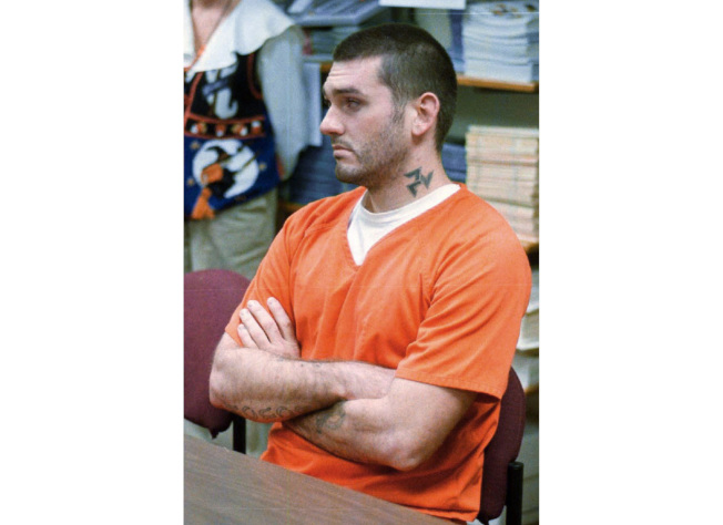 1996年殺死阿肯色州一家三口的丹尼爾‧李原定13日接受毒疫注射伏法,現在可能出現變數。圖為他的檔案照。(美聯社)
