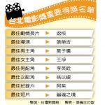 台北電影獎 莫子儀稱王 王淨封后「返校」是大贏家