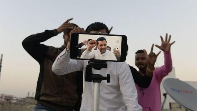 2020年,印度政府以國家安全的名義禁止使用TikTok,此前印度正是抖音海外版最大市場。(Getty Images)