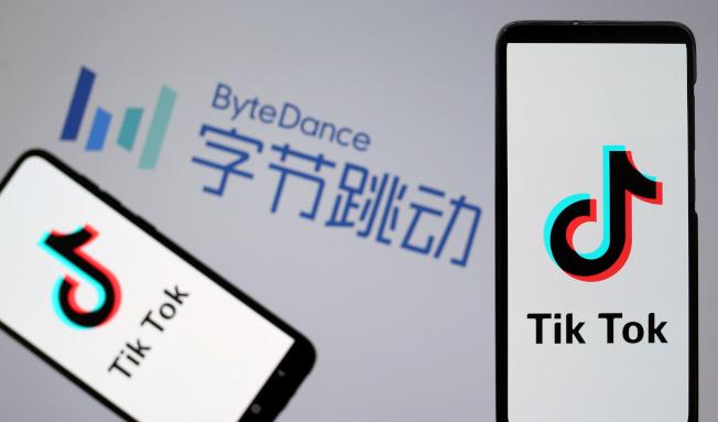 印度政府禁止59款App應用,包括字節跳動TikTok(抖音海外版)在內。(路透)