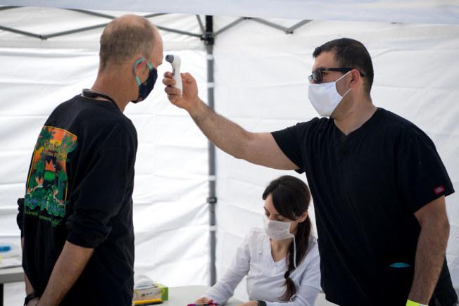 近幾周來,洛杉磯地區疫情趨勢惡化。(洛杉磯縣政府提供)