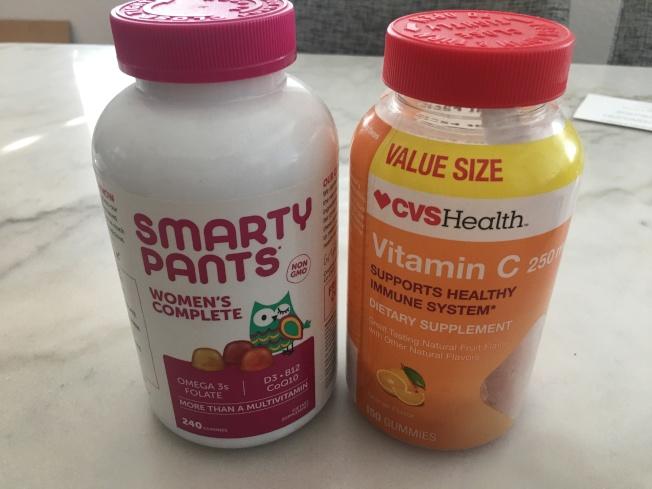 適當補充維生素可以幫助提供免疫力,抵抗病毒。(記者王全秀子/攝影)