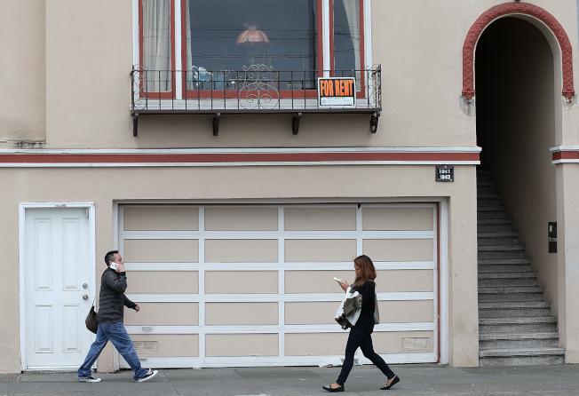 灣區科技中心租金下跌,但郊區租金卻上揚。(Getty Images)