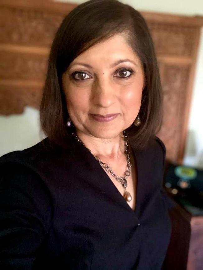 Chanda Parbhoo致力於推動南亞裔參政議政。(取材自Chanda Parbhoo臉書)