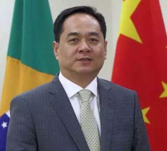 中國駐巴西大使楊萬明。(中新社)