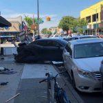 豪車撞皮卡 班森賀華裔社區嚴重車禍5傷