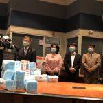 9.2萬個台灣口罩 經文處捐贈南卡