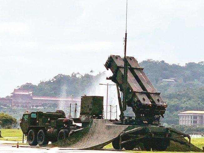 愛國者三型防空飛彈。圖/聯合報系資料照片
