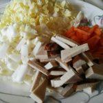 大白菜拌麵2道