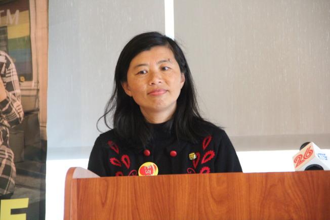 金山市立大學課程顧問苗麗娟擔憂,不知川普下一招會是什麼。(本報檔案照片)