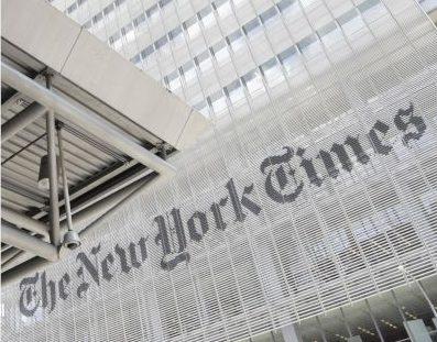 由於北京對香港實施國安法,紐約時報將把數位新聞中心從香港移到南韓。(美聯社)