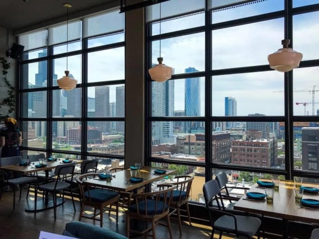 芝加哥西環區近年成為熱門科技公司、餐館的熱門設立地點,房價與租金飛漲。(特派員黃惠玲/攝影)