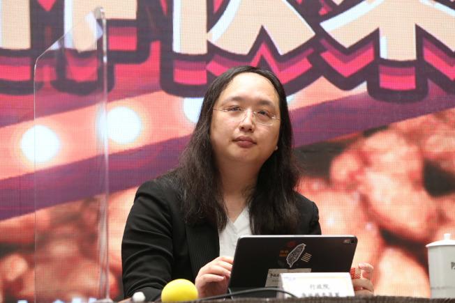 行政院政務委員唐鳳(圖)接受日媒專訪表示,一個國家的核心電信基礎設施若採用中國設備,形同讓特洛伊木馬進入網路。記者邱德祥/攝影