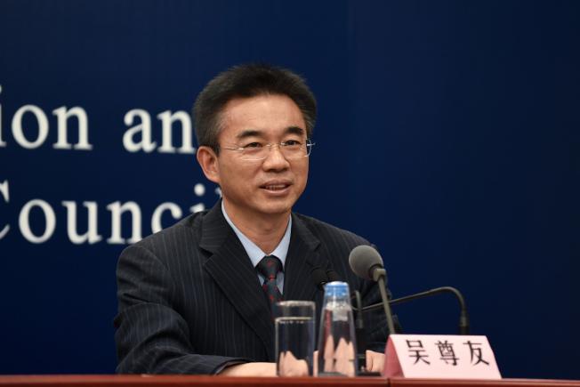 中國疾控中心流行病學首席專家吳尊友。中新社
