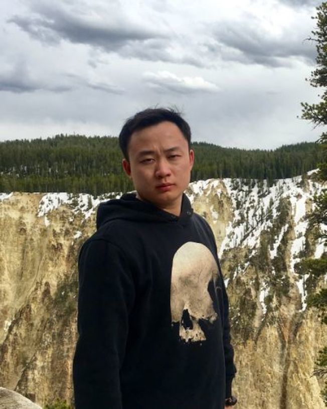 時年28歲的廖若晨遭綁架殺害。(圖片取自廖家設立的尋人網站)