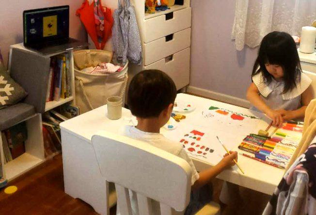 線上托兒課程多元「科普、繪畫全包」 華人家長熱追