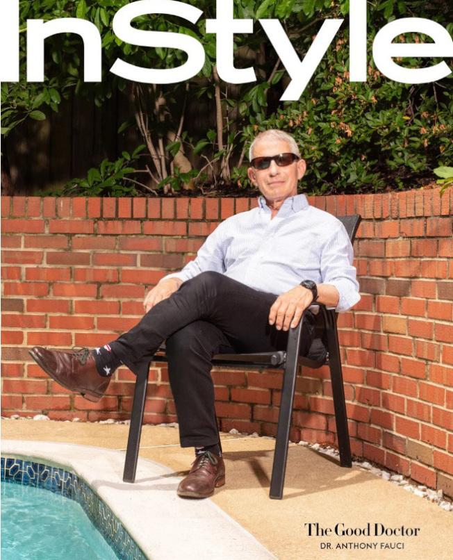 佛奇接受InStyle雜誌訪問,承認自己在白宮不受歡迎。(InStyle網站截圖)