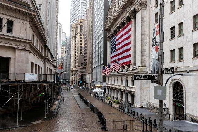 「金融戰爭」影集中,也出現「紐約證券交易所」(NYSE)。(路透)