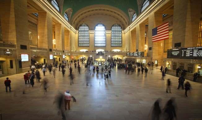 大都會北方鐵路火車站是紐約上州威徹斯特郡最佳的三個拍片地點之一。(路透)