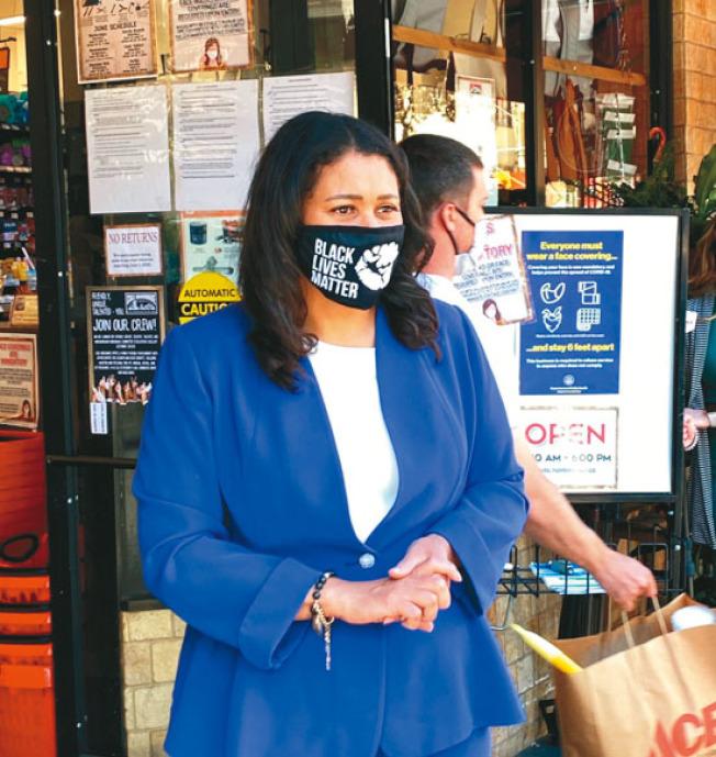 舊金山市長布里德17日宣布,全城無限期停止經濟重啟。(Getty Images)
