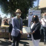 台灣捐2萬片醫療口罩 助中谷地區防疫