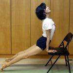 資深女藝人維持好身材 全靠1張椅子