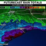 熱帶波形成 德州沿海下周降雨量升