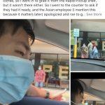 亞裔男餐館取咖啡 遭白人夫婦喊「武漢病毒」