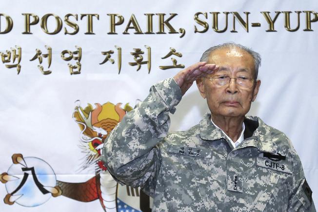 白善燁 韓戰英雄或歷史罪人