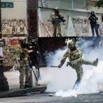 「這是地方權限」聯邦幹員逮示威民眾 國安部被告違憲