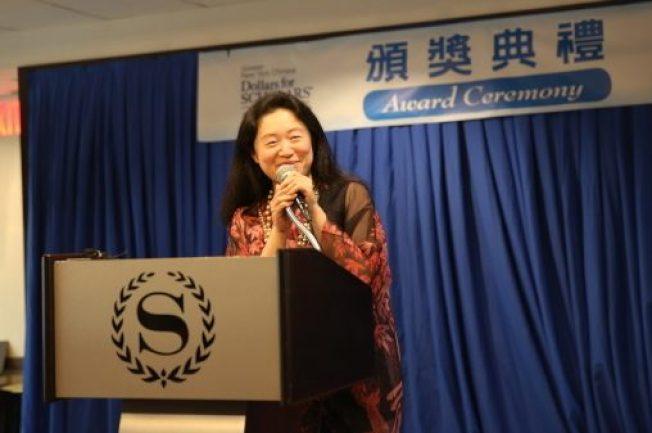 大紐約區華人教育基金會會長李德怡。(本報資料照片)