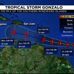 本季首颶風貢薩洛 估今日成形